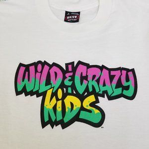 Vintage 90s Nickelodeon Wild & Crazy Kids TV Show